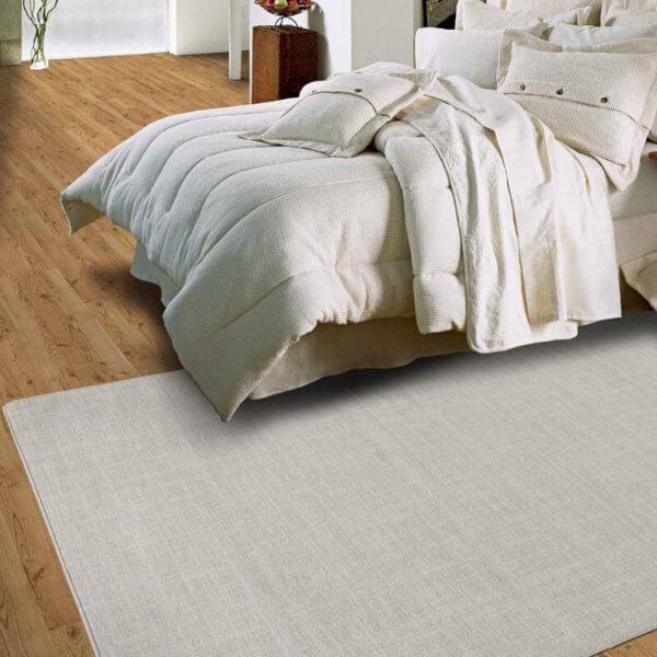 Milliken Brushed Linen Area Rug Collection - Room