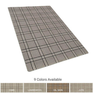 Milliken Herrington Plaid Indoor Area Rug Collection