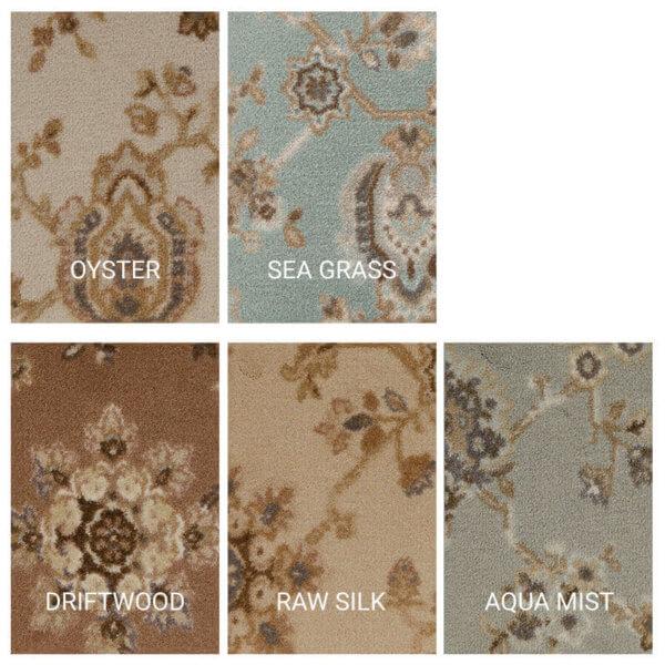 Milliken Oriental Spendor Indoor Area Rug Collection - 5 Colors Available