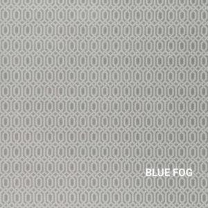 Blue Fog Story Line Indoor Rug