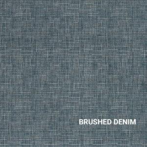 Brushed Denim Stitches Indoor Rug