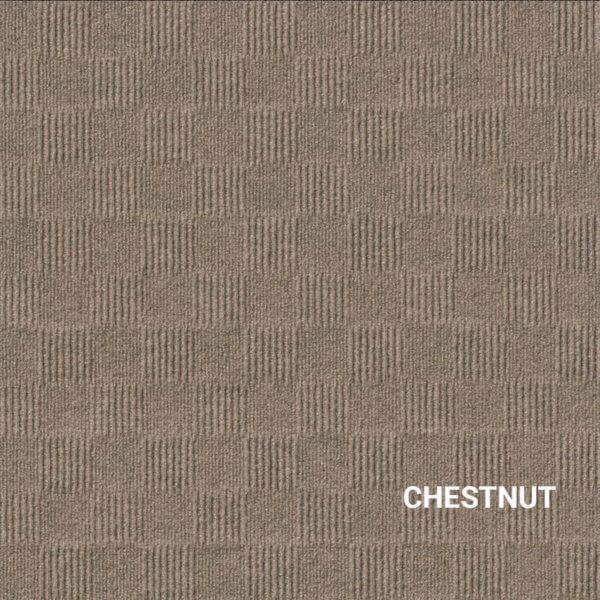 Chestnut Crochet Carpet Tile