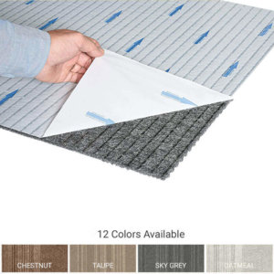 Courture Peel and Stick Indoor Outdoor Carpet Tile