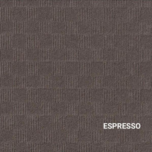 Espresso Crochet Carpet Tile