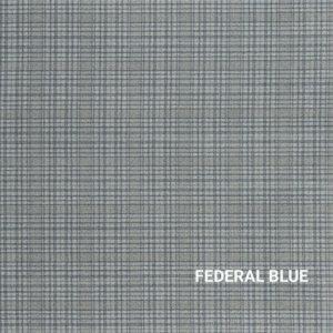 Federal Blue Milliken Personal Retreat Rug