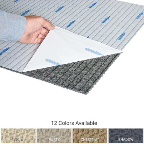 Cityscape Peel and Stick Indoor Outdoor Carpet Tile