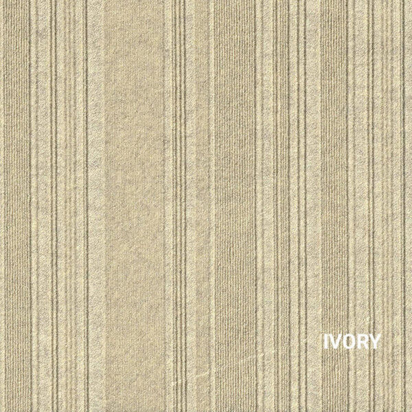 Ivory Couture Carpet Tile