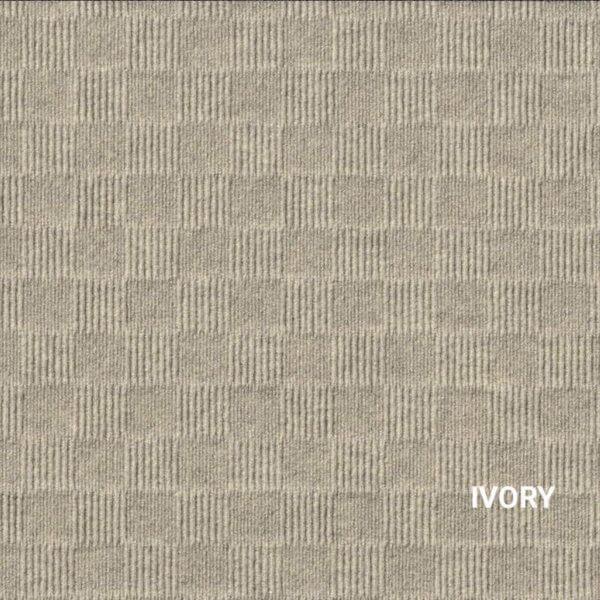 Ivory Crochet Carpet Tile