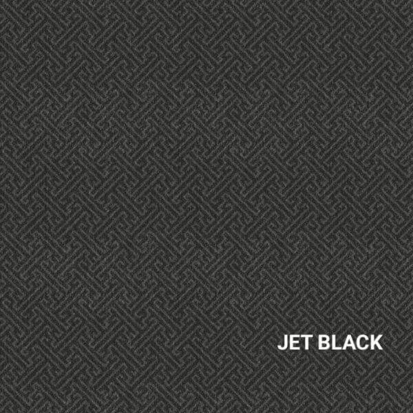 Jet Black Urbane Rug