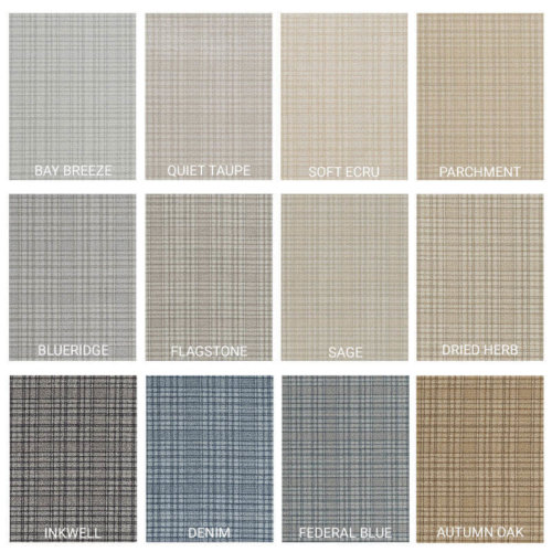 Milliken Personal Retreat Indoor Area Rug Collection - 12 Colors Available