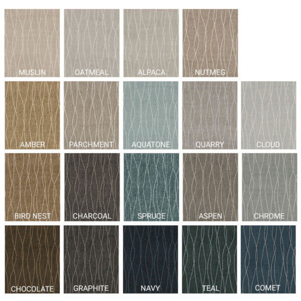 Milliken Streamline II Indoor Area Rug Collection - 19 Colors Available