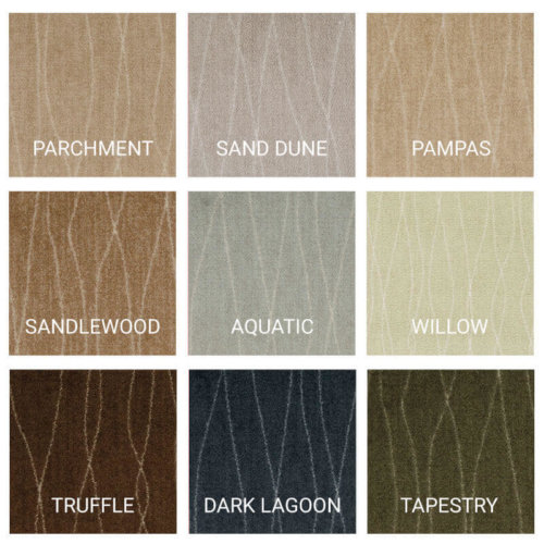 Milliken Streamline Indoor Area Rug Collection - 9 Colors Available