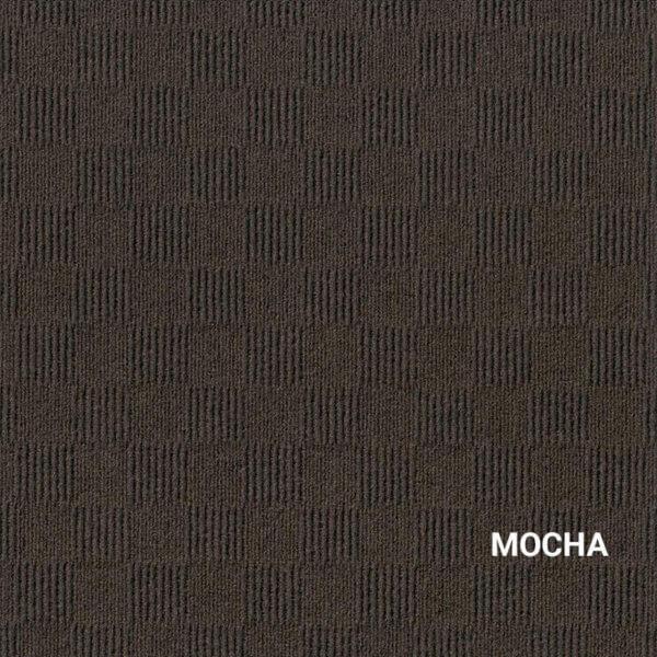 Mocha Crochet Carpet Tile
