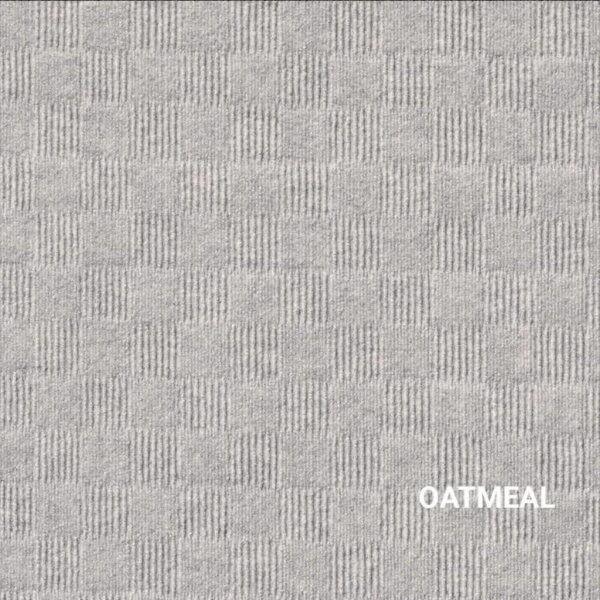 Oatmeal Crochet Carpet Tile