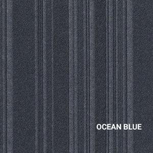 Ocean Blue Couture Carpet Tile