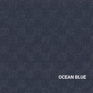 Ocean Blue Crochet Carpet Tile