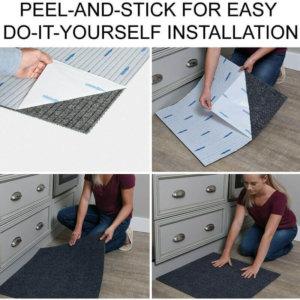 foss DIY Peel and Stick Carpet Tile