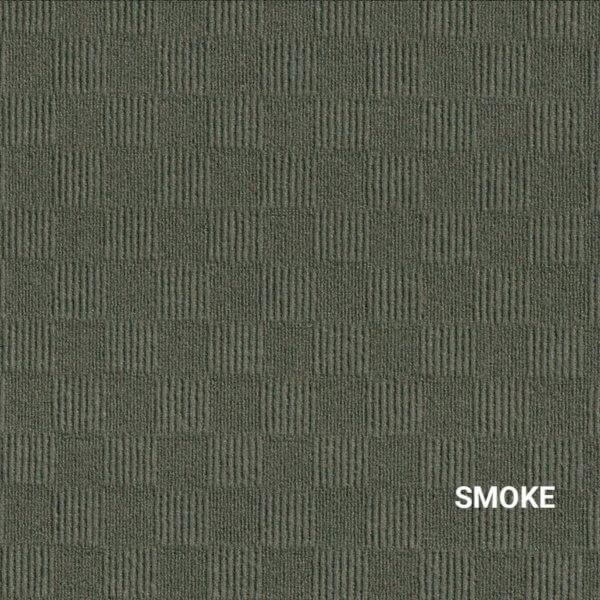 Smoke Crochet Carpet Tile