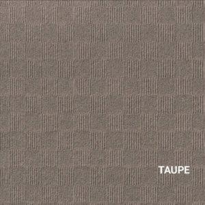 Taupe Crochet Carpet Tile