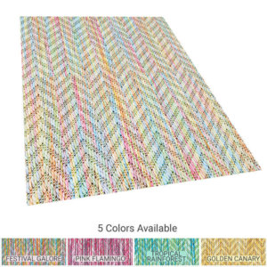 Belize Custom Cut Indoor Outdoor Area Rug Collection