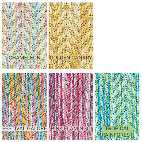 Belize Custom Cut Indoor Outdoor Area Rug Collection - 5 Colors Available
