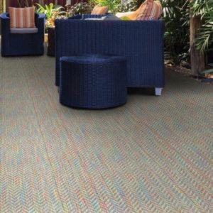 Belize Custom Cut Indoor Outdoor Area Rug Collection - Room