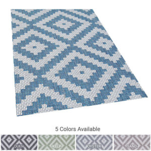 Diamond Head Custom Cut Indoor Outdoor Area Rug Collection