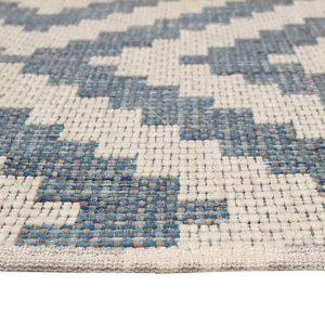 Diamond Head Custom Cut Indoor Outdoor Area Rug Collection - Binding