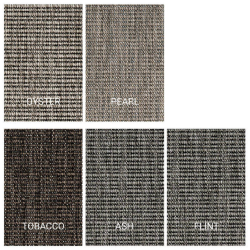 Executive Suites Custom Cut Indoor Outdoor Area Rug Collection - 5 Colors Available