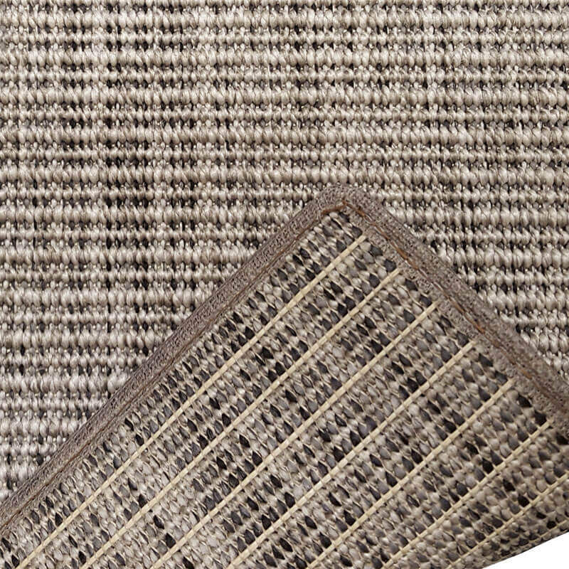 Executive Suites Custom Cut Indoor Outdoor Area Rug Collection - Backing