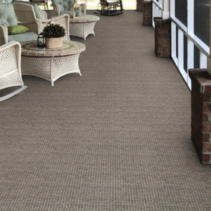 Executive Suites Custom Cut Indoor Outdoor Area Rug Collection - Room