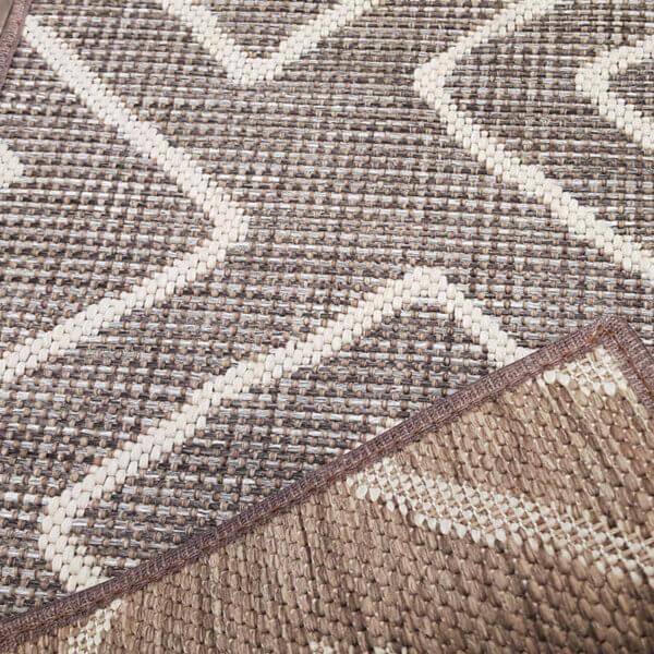 Hana Bay Custom Cut Indoor Outdoor Area Rug Collection - Backing