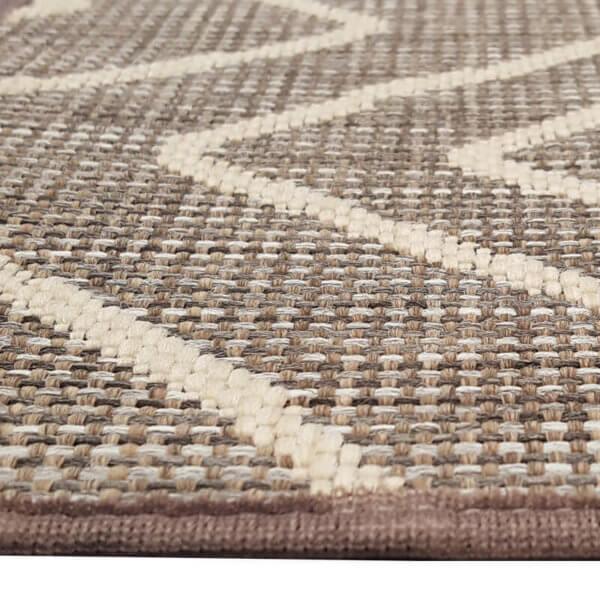 Hana Bay Custom Cut Indoor Outdoor Area Rug Collection - Binding