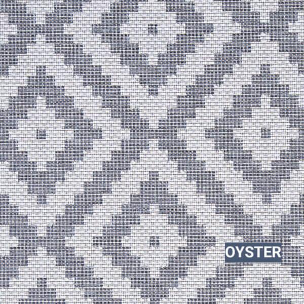 Oyster Dimond Head Area Rug