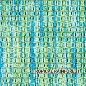 Tropical Rainforest Tahiti Area Rug