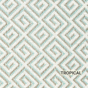 Tropical San Clemente Area Rug