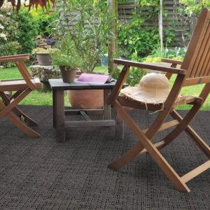 Villa Suites Custom Cut Indoor Outdoor Area Rug Collection - Room