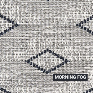 Morning Fog Barbados Rug