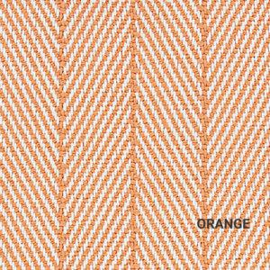 Orange Marathon Key Area Rug