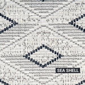 Sea Shell Barbados Rug