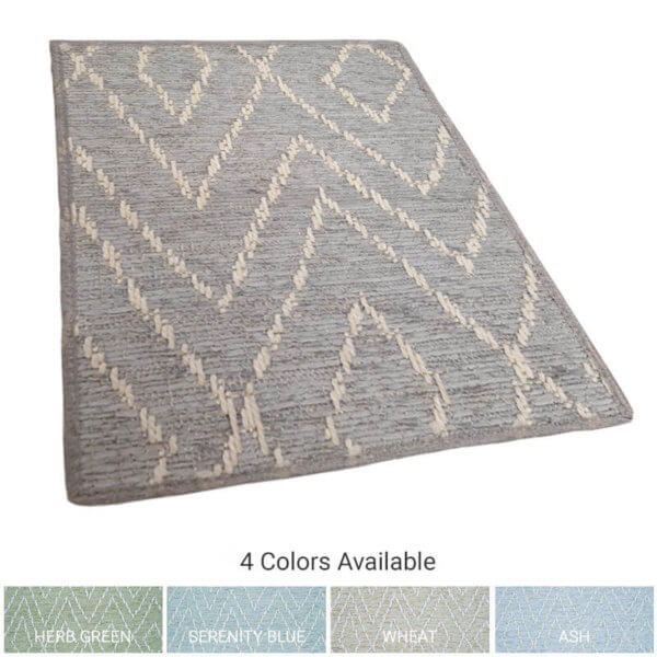 Woodnote Custom Cut Indoor Outdoor Area Rug Collection