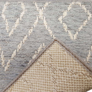 Woodnote Custom Cut Indoor Outdoor Area Rug Collection - Backing