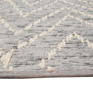 Woodnote Custom Cut Indoor Outdoor Area Rug Collection-Binding