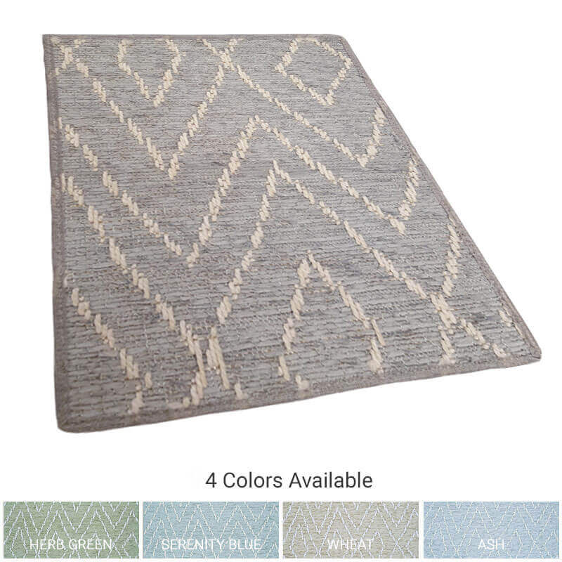 Woodnote Custom Cut Indoor Outdoor Area Rug Collection