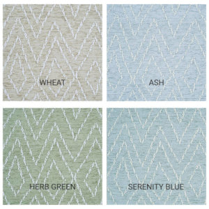 Woodnote Custom Cut Indoor Outdoor Area Rug Collection - 4 Colors Available