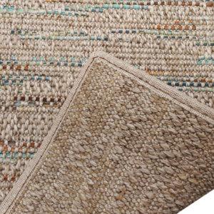 Grand Turk Custom Cut Indoor Outdoor Area Rug Collection - Backing