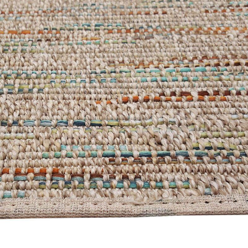Grand Turk Custom Cut Indoor Outdoor Area Rug Collection - Binding