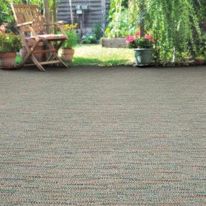 Grand Turk Custom Cut Indoor Outdoor Area Rug Collection - Room