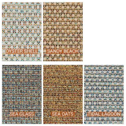 St. Vincent Custom Cut Indoor Outdoor Area Rug - 5 Colors Available