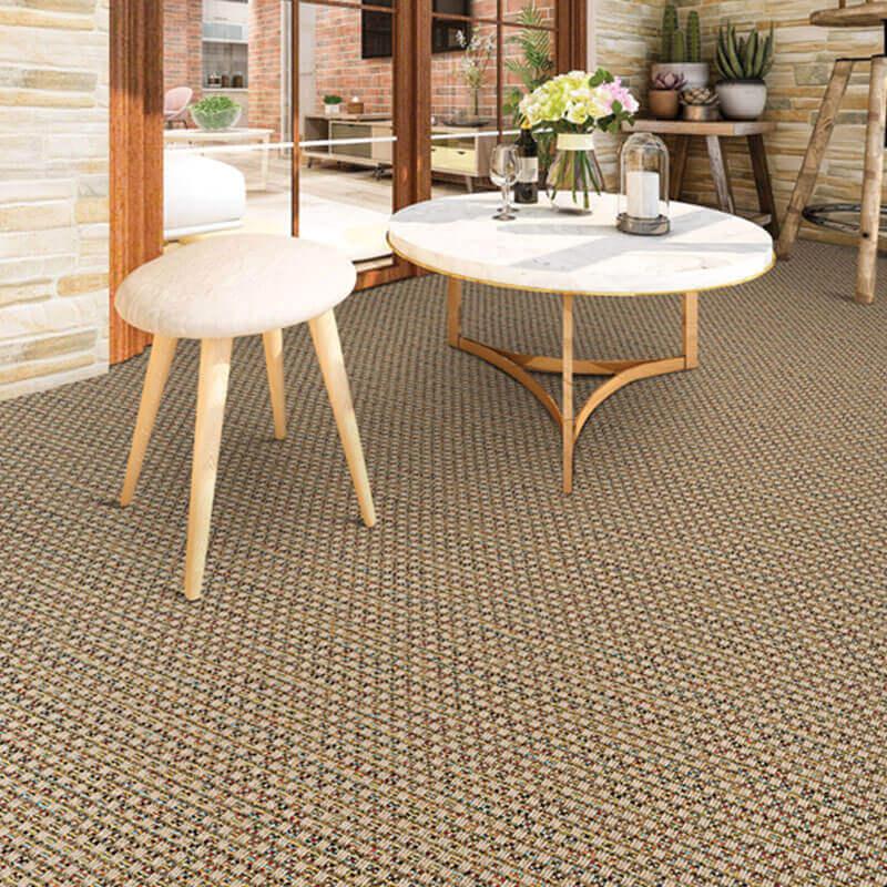 St. Vincent Custom Cut Indoor Outdoor Area Rug - Room